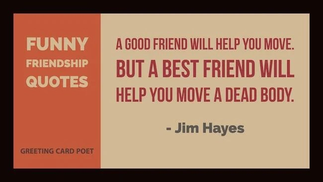 very funny friendship quotes