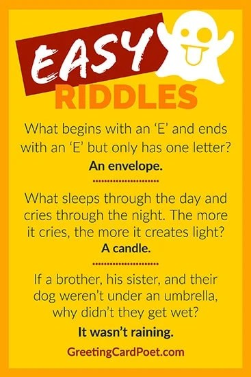 Easy Riddles To Expand Your Mind And Test Your Brilliance