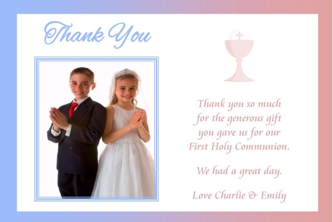 Thank You Gift Ideas For First Communion Panglimaword Co