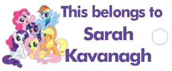personalised my little pony