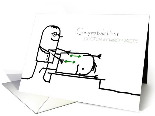 Doctor of Chiropractic Graduation Congratulations Stick