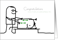 Congratulations on your Chiropractic Graduation Cards from