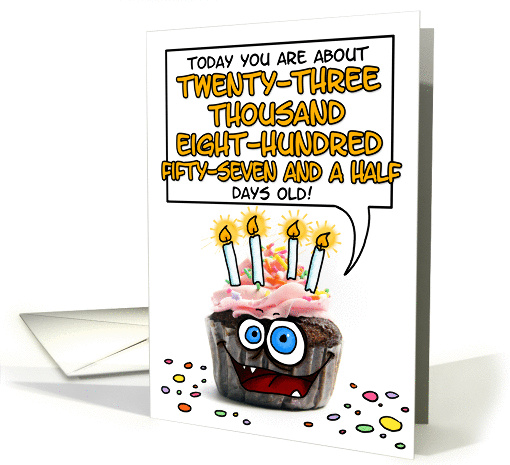 Happy Birthday 65 Years Old Card 277940