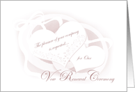 Vow Renewal Invitations from Greeting Card Universe