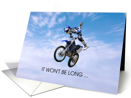 Get Better Soon Motorcycle Accident Stunt Rider Card