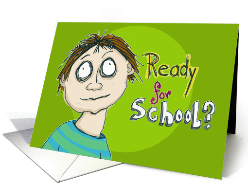 Back To School Best Wishes Card 947591