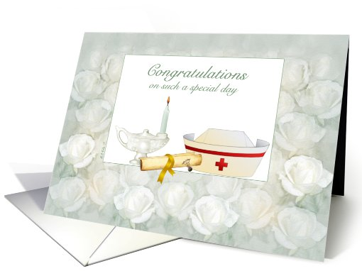 Nurse Graduation Pinning Ceremony Card 744230