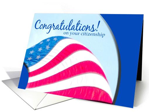 Congratulations Citizenship card 325330