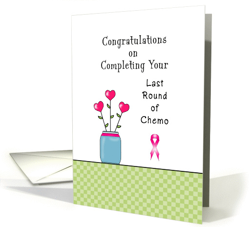 For Breast Cancer Patient Last Round Of Chemotherapy Card