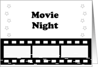 Movie Night Invitations from Greeting Card Universe