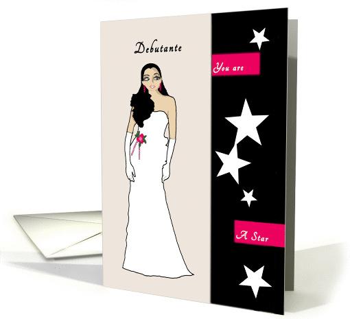 Congratulations Debutante Card 1385102
