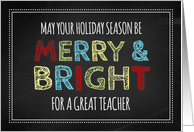 Christmas Cards For Teachers From Greeting Card Universe