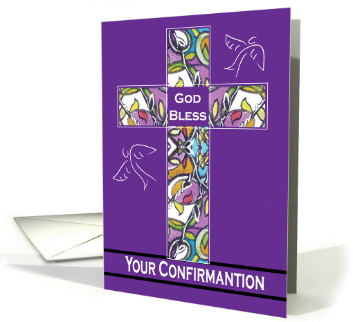 God Bless Your Confirmation Card 443894