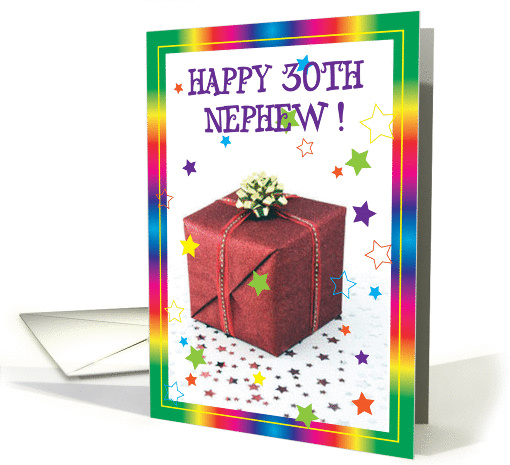 Happy 30th Birthday Nephew Card 595944