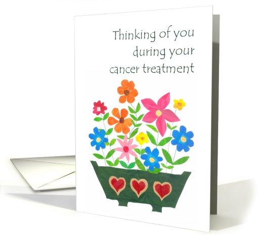 Cancer Treatment Thinking Of You Card 814763