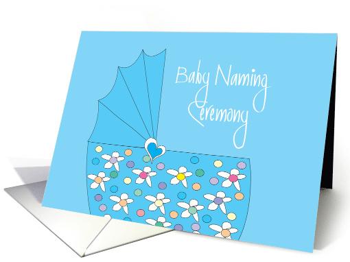 Blank Baptism Invitation Cards