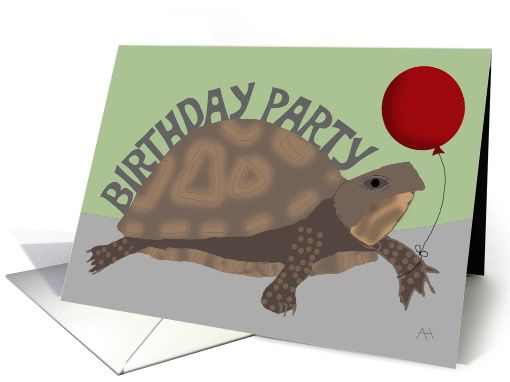 belated birthday party invitation card