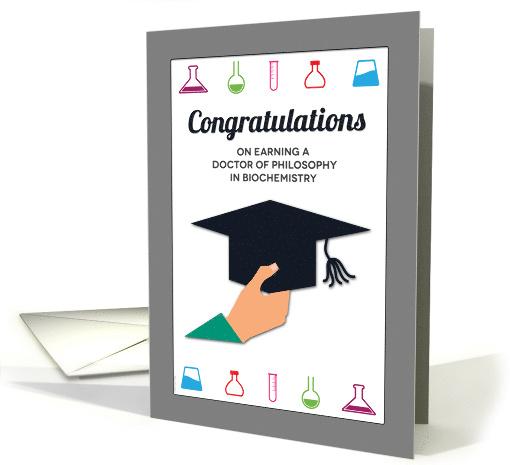 PhD In Biochemistry Graduation Congratulations Doctorate