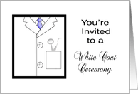 White Coat Ceremony Invitations from Greeting Card Universe