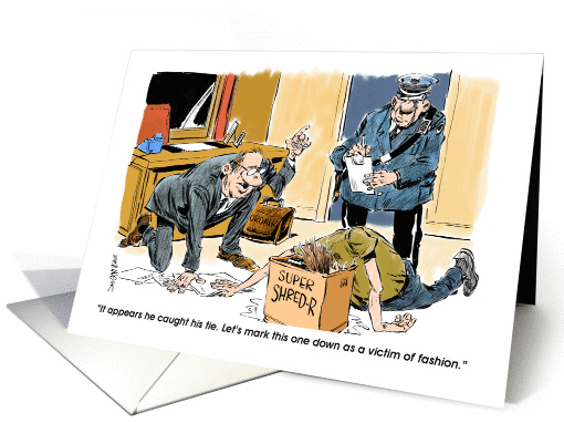 Funny Invitation To Networking Mixer Meet & Greet Cartoon Card