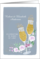 15th anniversary invitations from