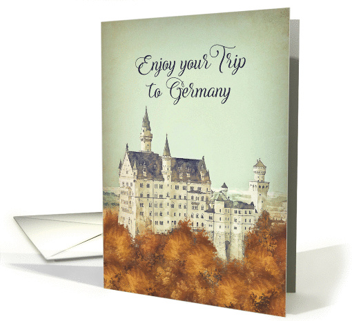 Bon Voyage To Germany German Castle Vintage Card 1438406