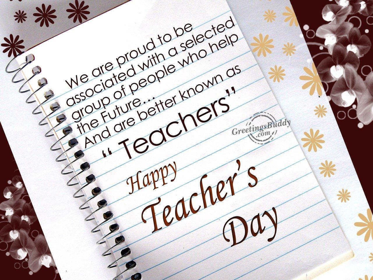 Happy Teacher's Day GreetingsBuddy Com