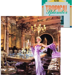 Ivana Trump in the dining room of Mar-a-Lago, modeled after a room in Rom's fifteenth century Chigi Palace.
