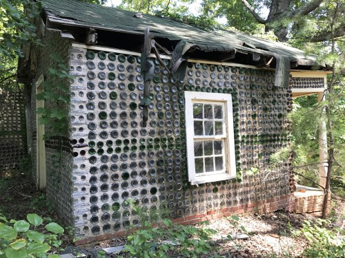 One of Charlie Yelton's Bottle Houses