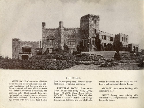 Overlook Mansion, Overlook Castle or Seely's Castle in Asheville – Greetings from the Past