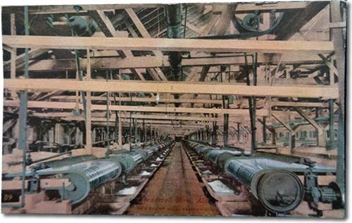 Treadwell Mine, Alaska 300 Stamp Mill, Vanner Room