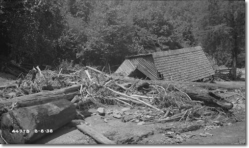 Flood Damage to Farm Photo from TVA