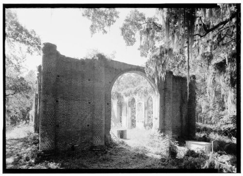 Prince William's Parish Church (Ruins), Sheldon, Beaufort County, SC Library of Congress Prints and Photographs Division Historic American Buildings Survey