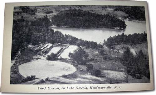 Camp Osceola, on Lake Osceola, Hendersonville, N.C.