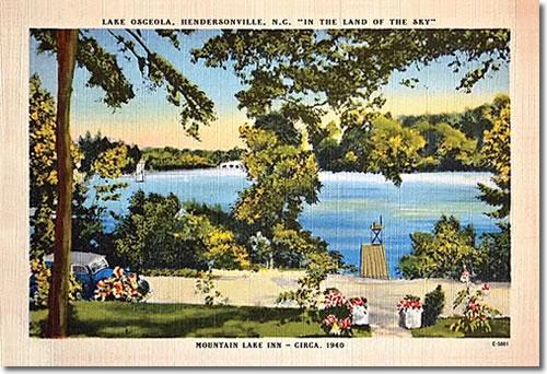 Mountain Lake Inn, Lake Osceola, Hendersonville NC