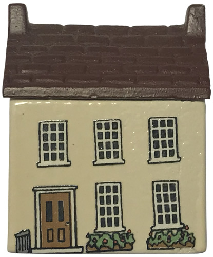 Undertakers House - Wade's Irish Village, Bally-Whim - Wade Whimsey Villages