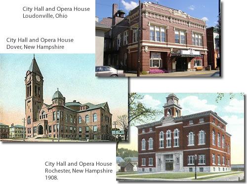 Historic City Hall Opera Houses