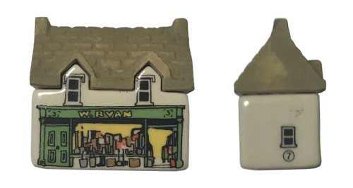 W. Ryans Hardware Store - Wade's Irish Village, Bally-Whim - Wade Whimsey Villages
