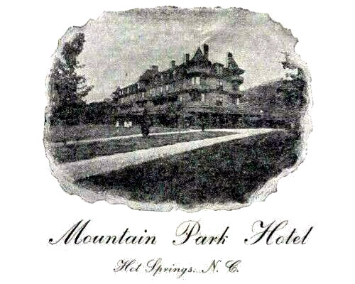 Mountain Park Hotel Hot Springs, NC