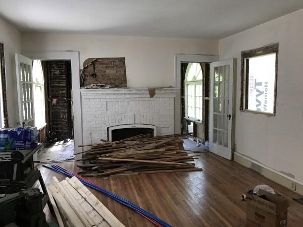 Living Room - Leslie K. Singley House, Druid Hills