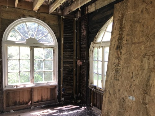 This room is on the other side of the fireplace in the Living Room - Leslie K. Singley House, Druid Hills