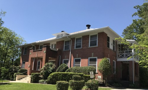 This used to be the Patton Memorial Hospital, Hyman Heights, Hendersonville, NC