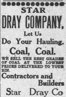 Star Dray Company Ad