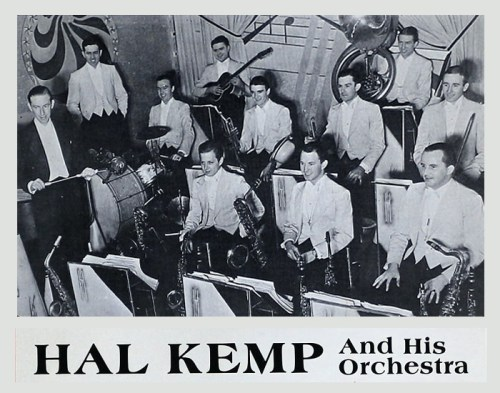 Hal Kemp Orchestra played the last night at the Wheeler Pavilion
