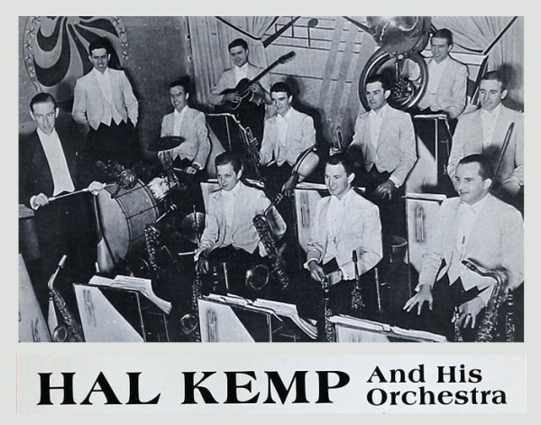 Al Kemp Orchestra played the last night at the Wheeler Pavilion - Hotel Wheeler – Hendersonville, NC