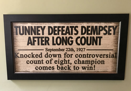 This was in the workout room at Indian Cave Lodge