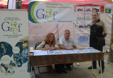Le GREF à la journée des associations d'Aix en Provence