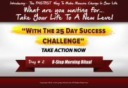 day 2 of the 25 day success challenge