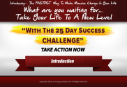 25 day success challenge