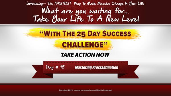Day 15: Mastering Procrastination